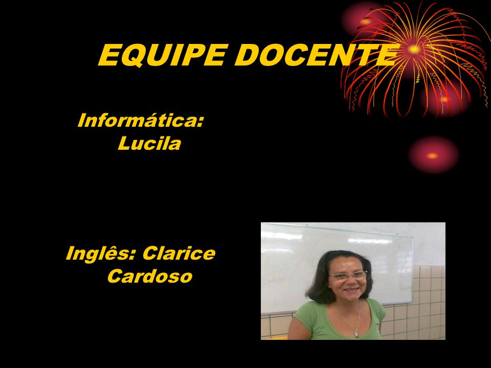 Inglês: Clarice Cardoso