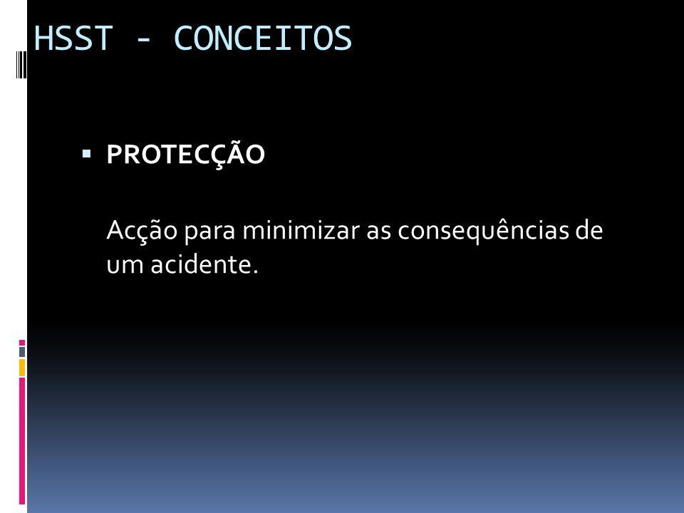 HSST - CONCEITOS PROTECÇÃO