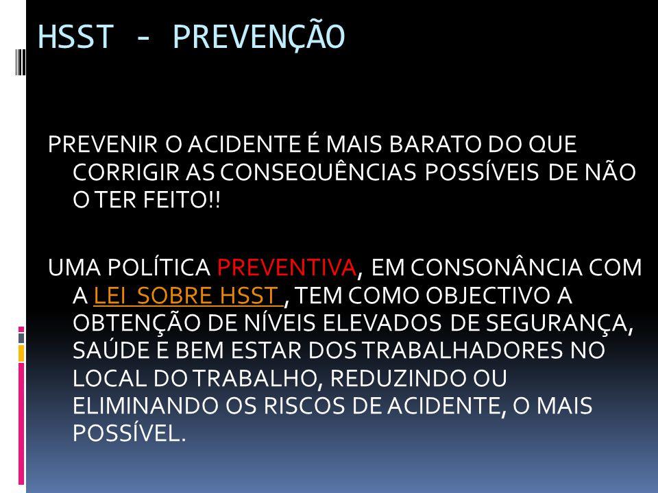 HSST - PREVENÇÃO