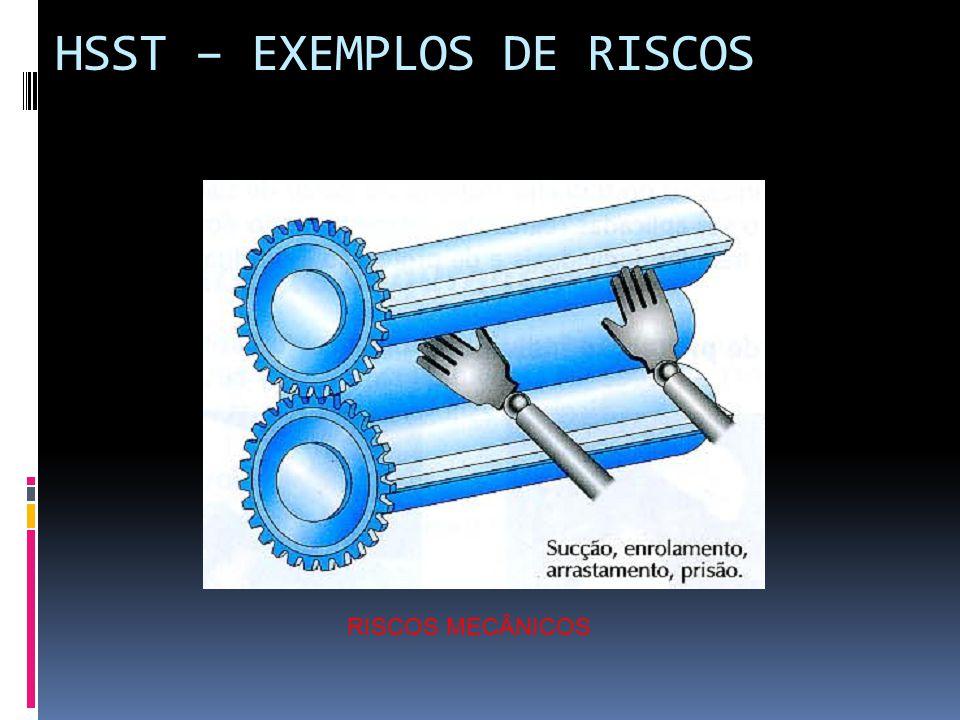 HSST – EXEMPLOS DE RISCOS