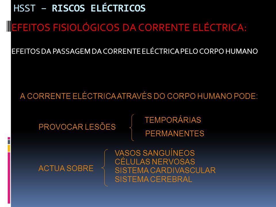 HSST – RISCOS ELÉCTRICOS