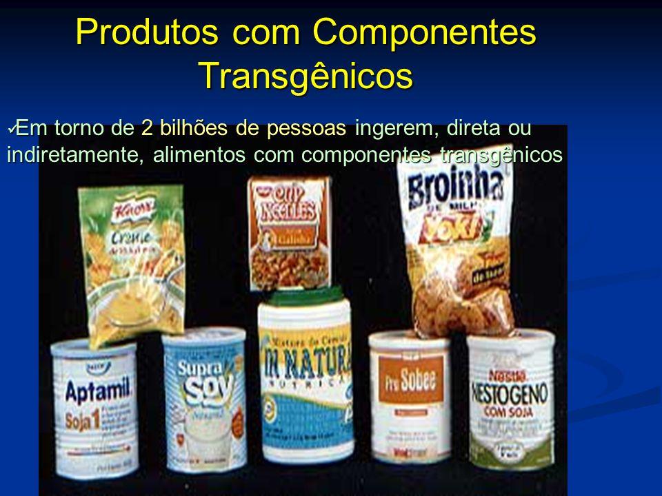Produtos com Componentes Transgênicos