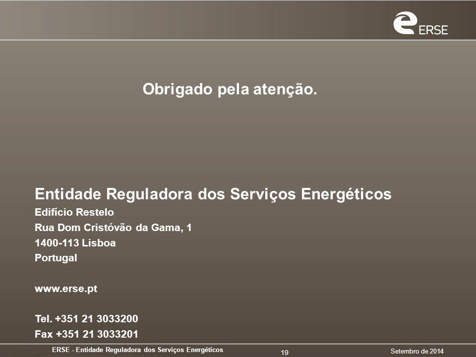 ERSE - Entidade Reguladora dos Serviços Energéticos