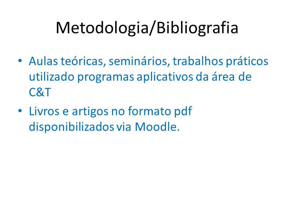 Metodologia/Bibliografia