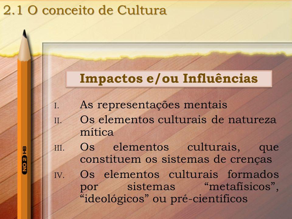 Impactos e/ou Influências