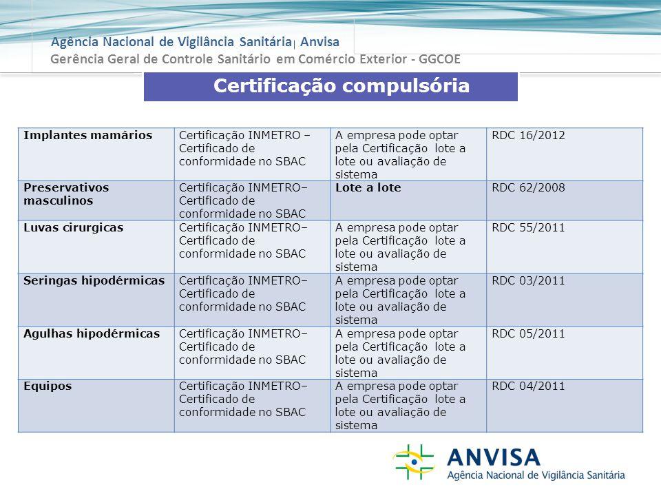Certificação compulsória