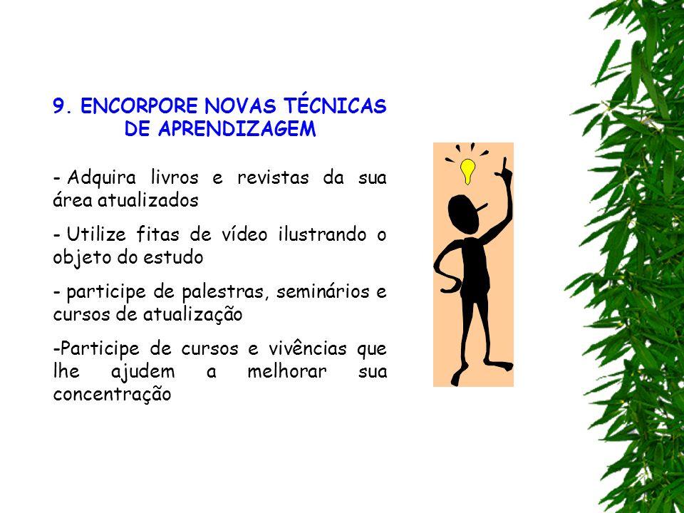 9. ENCORPORE NOVAS TÉCNICAS DE APRENDIZAGEM