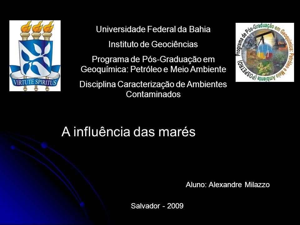 A influência das marés Universidade Federal da Bahia