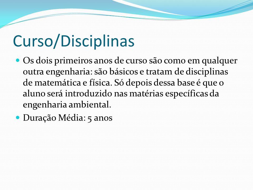 Curso/Disciplinas