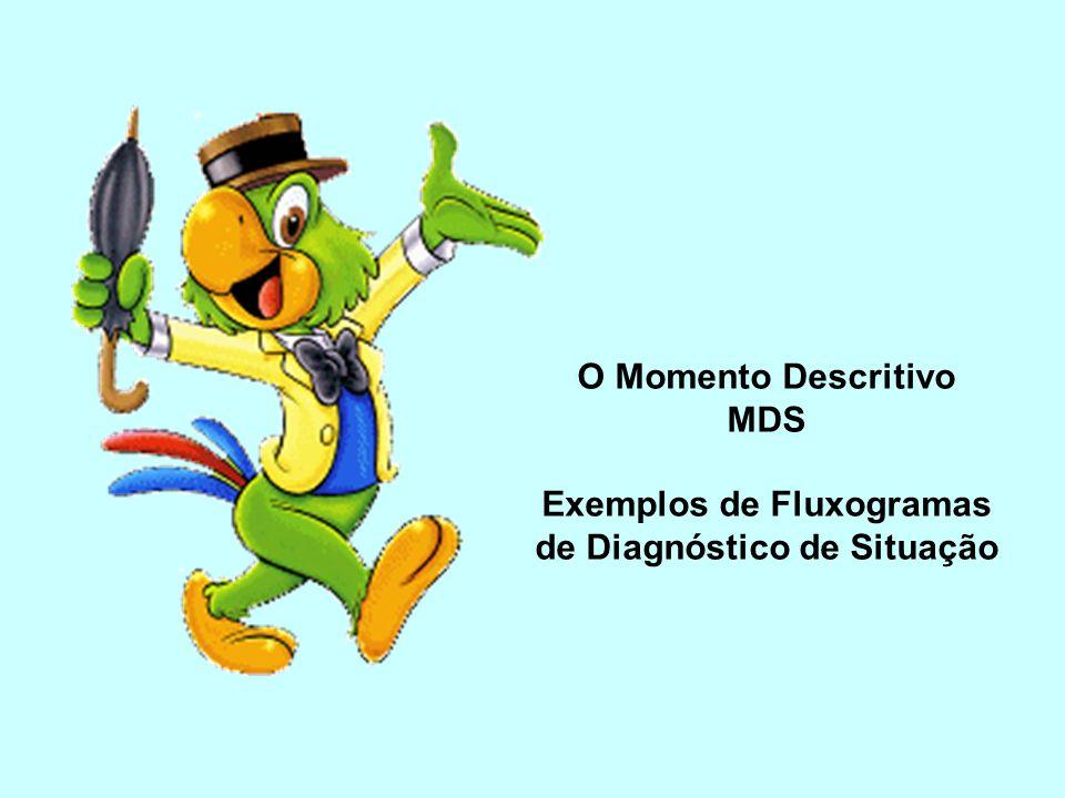 Exemplos de Fluxogramas de Diagnóstico de Situação