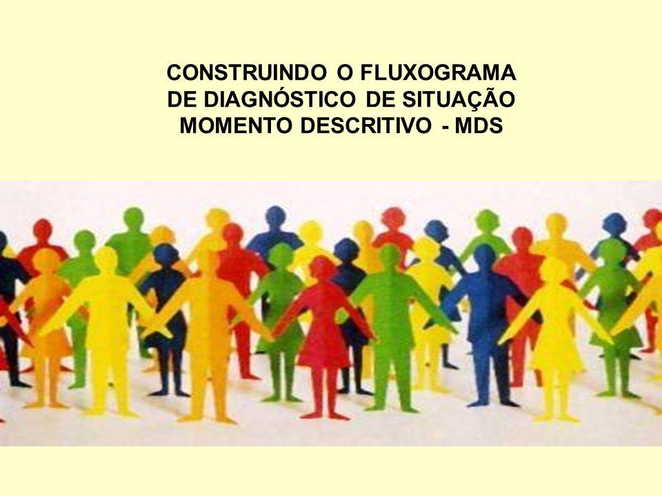 CONSTRUINDO O FLUXOGRAMA DE DIAGNÓSTICO DE SITUAÇÃO