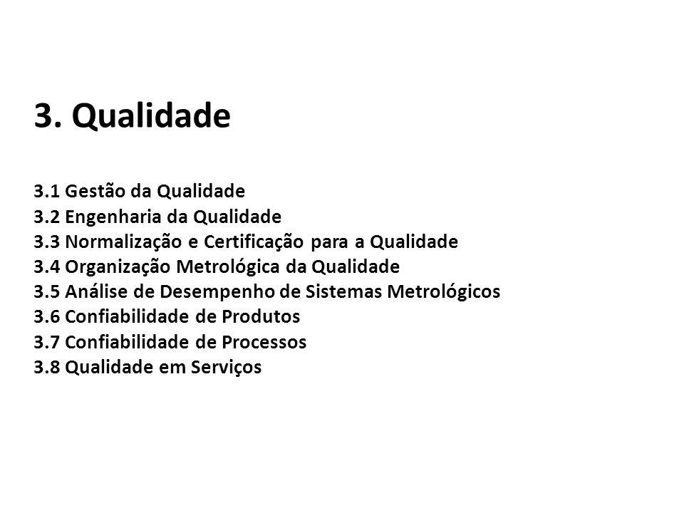 3. Qualidade