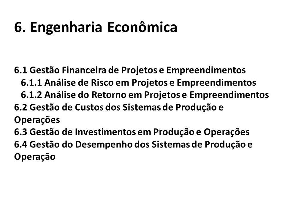 6. Engenharia Econômica