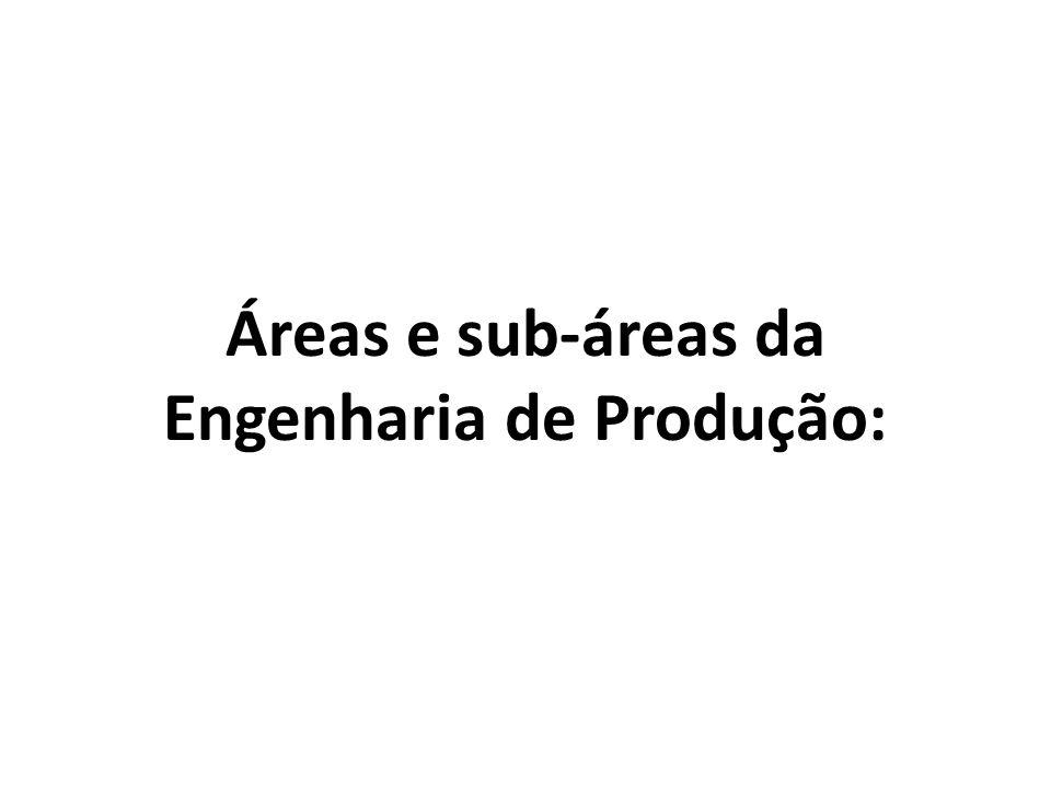 Engenharia de Produção: