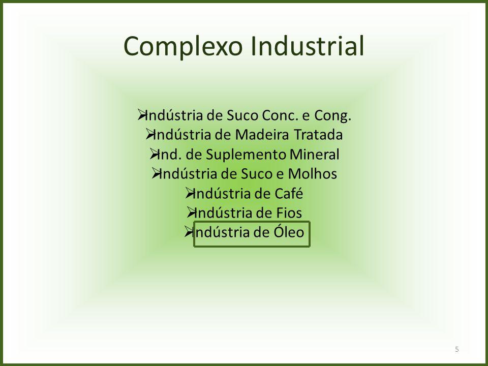 Complexo Industrial Indústria de Suco Conc. e Cong.