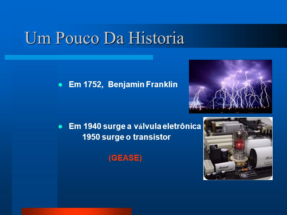 Um Pouco Da Historia Em 1752, Benjamin Franklin