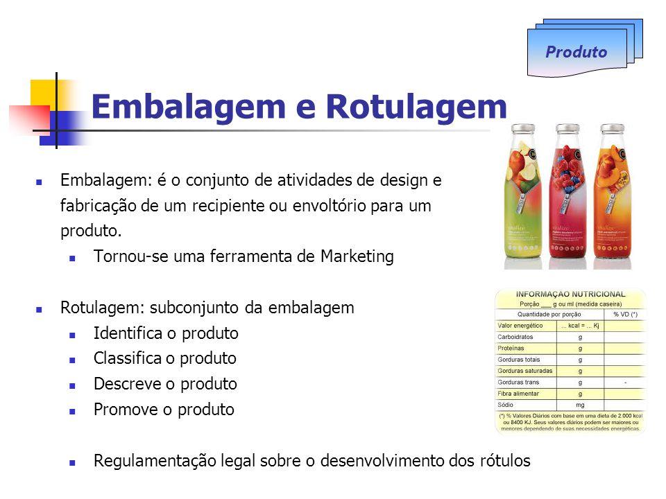 Embalagem e Rotulagem Produto