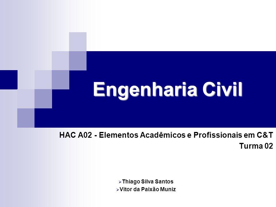 Engenharia Civil HAC A02 - Elementos Acadêmicos e Profissionais em C&T