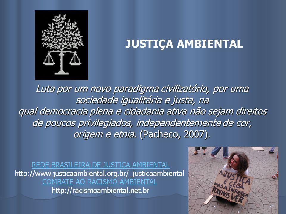 JUSTIÇA AMBIENTAL