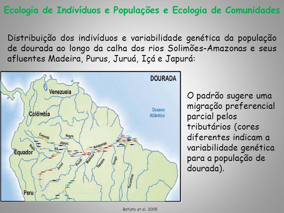 Ecologia de Indivíduos e Populações e Ecologia de Comunidades
