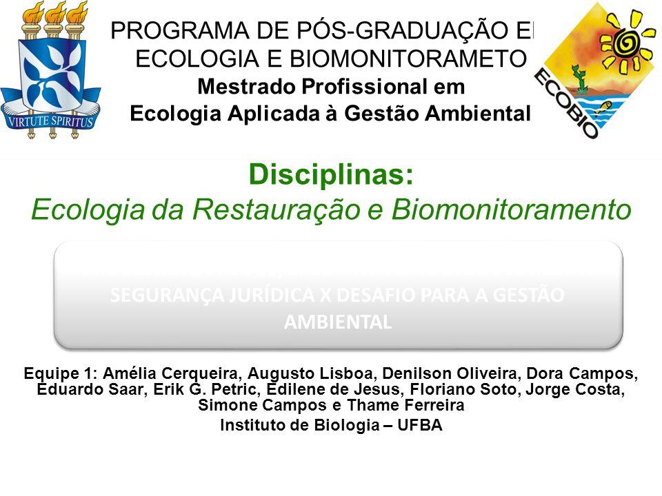 Instituto de Biologia – UFBA