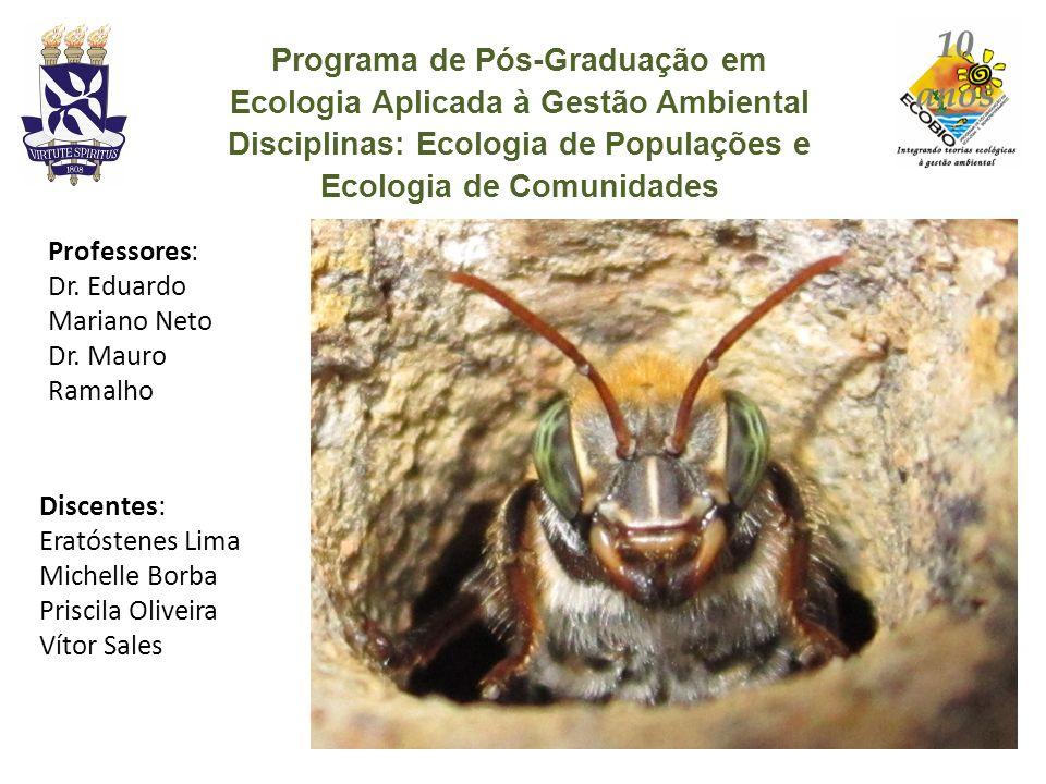 Programa de Pós-Graduação em Ecologia Aplicada à Gestão Ambiental
