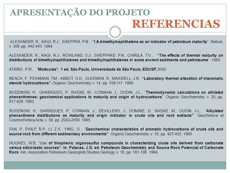 REFERENCIAS APRESENTAÇÃO DO PROJETO