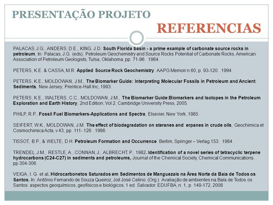 REFERENCIAS PRESENTAÇÃO PROJETO