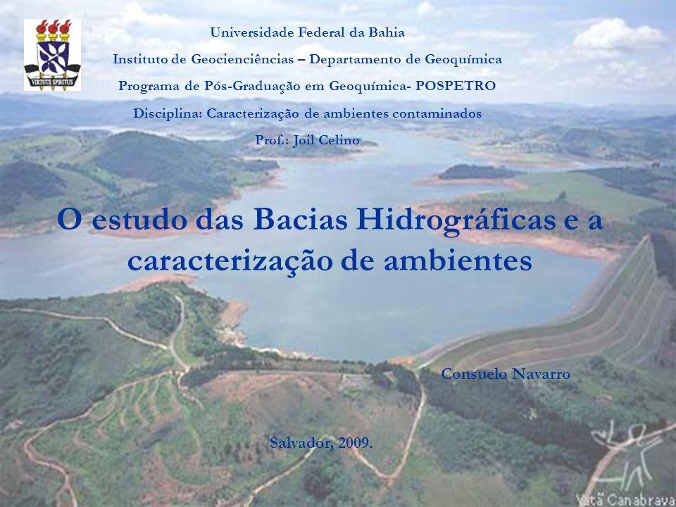 O estudo das Bacias Hidrográficas e a caracterização de ambientes