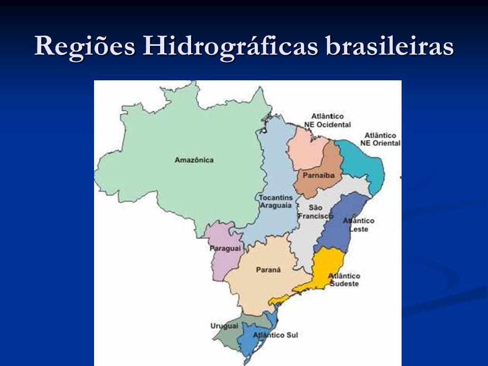 Regiões Hidrográficas brasileiras