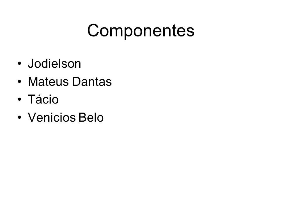 Componentes Jodielson Mateus Dantas Tácio Venicios Belo