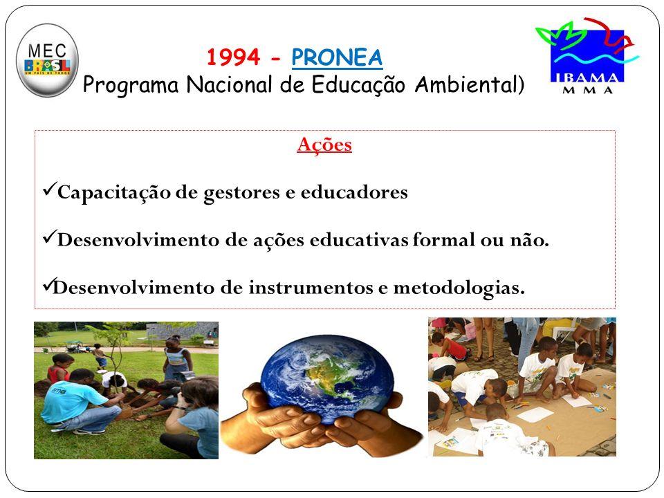 Programa Nacional de Educação Ambiental)