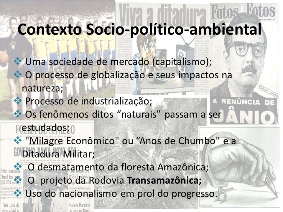 Contexto Socio-político-ambiental