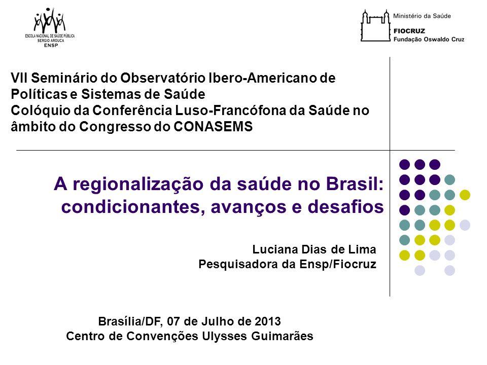 VII Seminário do Observatório Ibero-Americano de Políticas e Sistemas de Saúde
