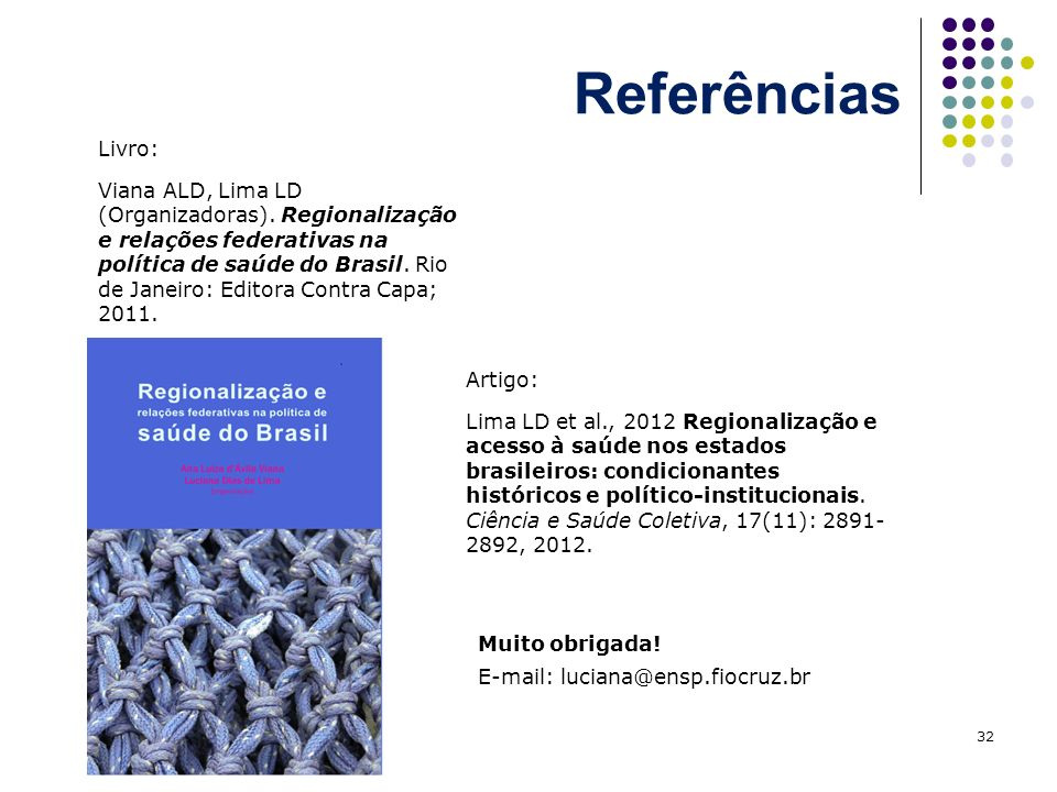 ReferênciasLivro: