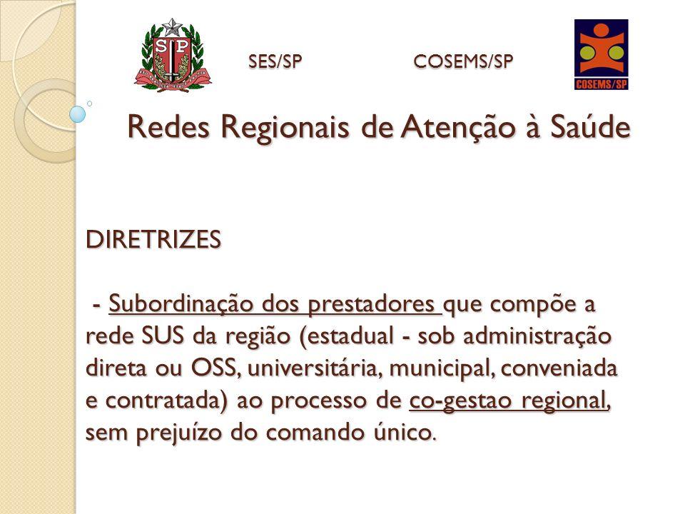 Redes Regionais de Atenção à Saúde