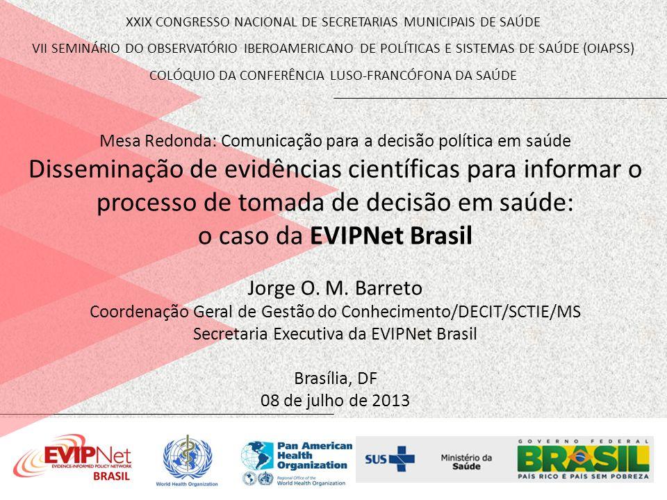 o caso da EVIPNet Brasil