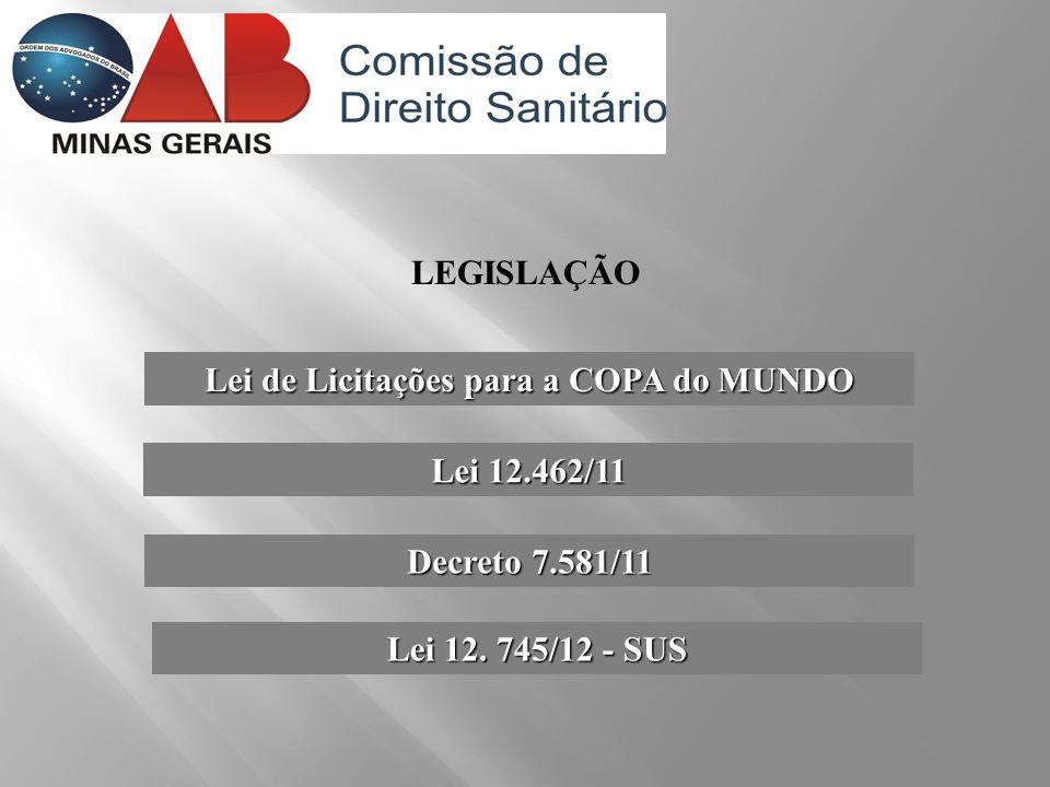 Lei de Licitações para a COPA do MUNDO