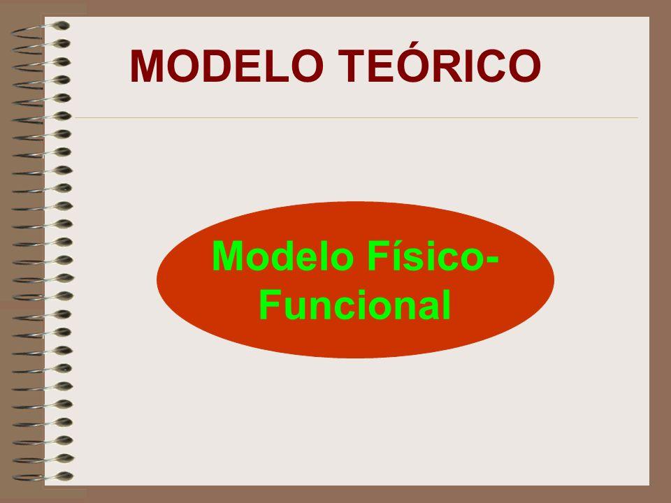 MODELO TEÓRICO Modelo Físico- Funcional