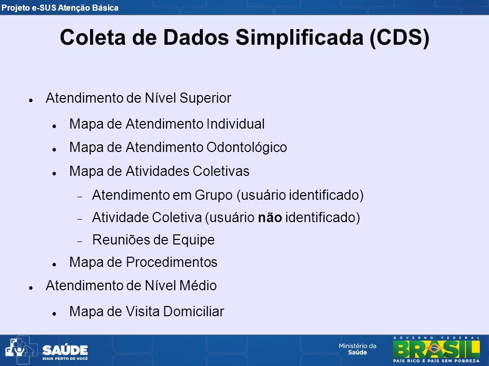 Coleta de Dados Simplificada (CDS)