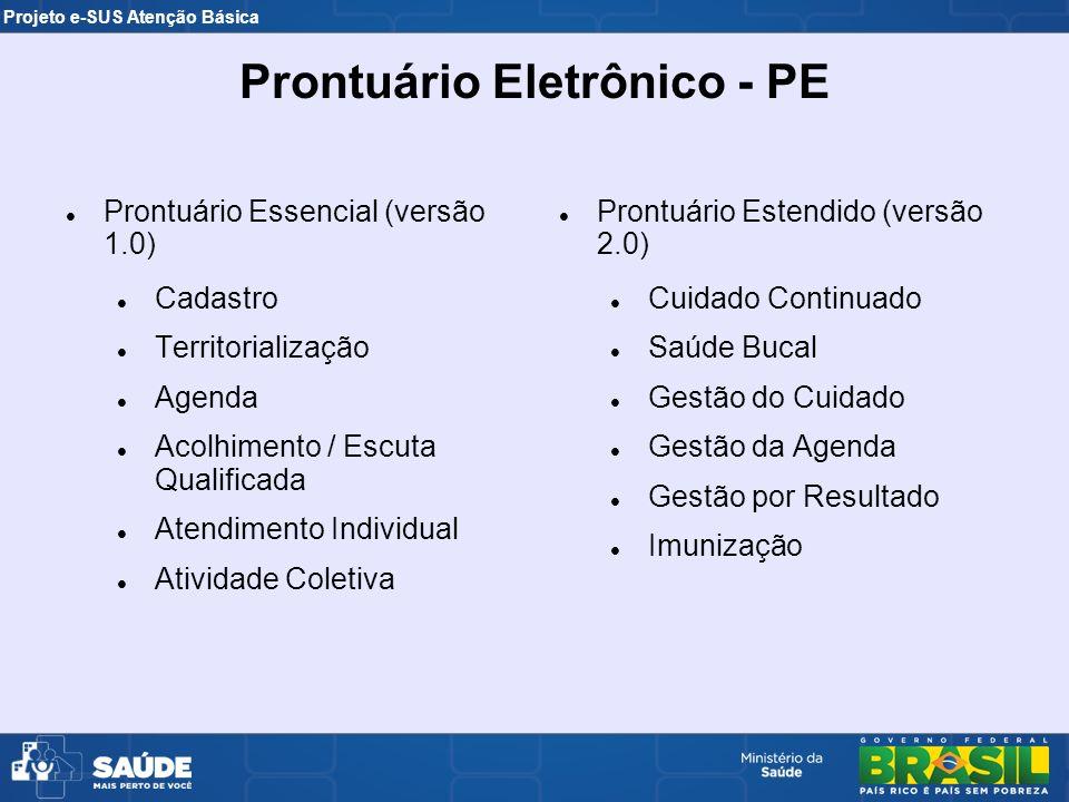 Prontuário Eletrônico - PE