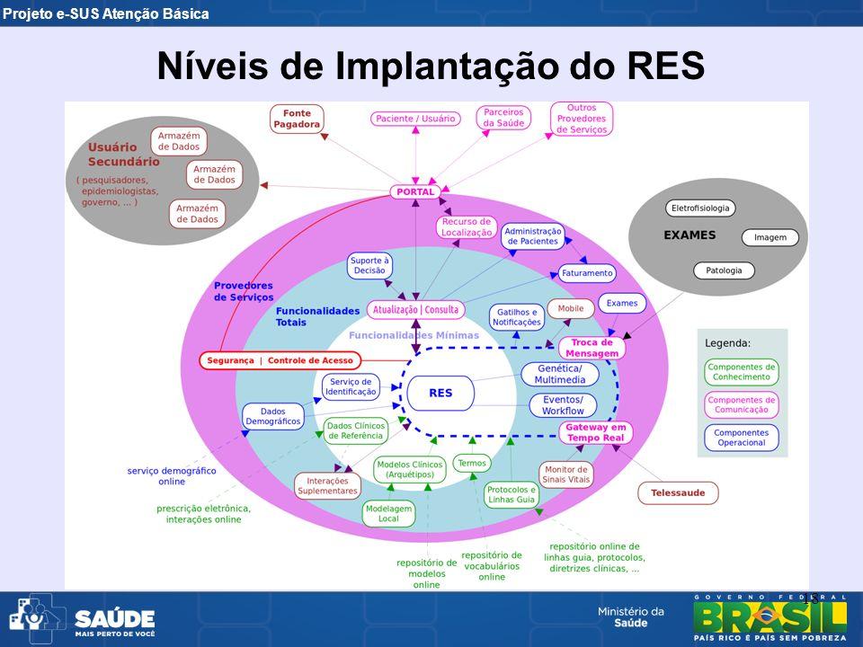 Níveis de Implantação do RES