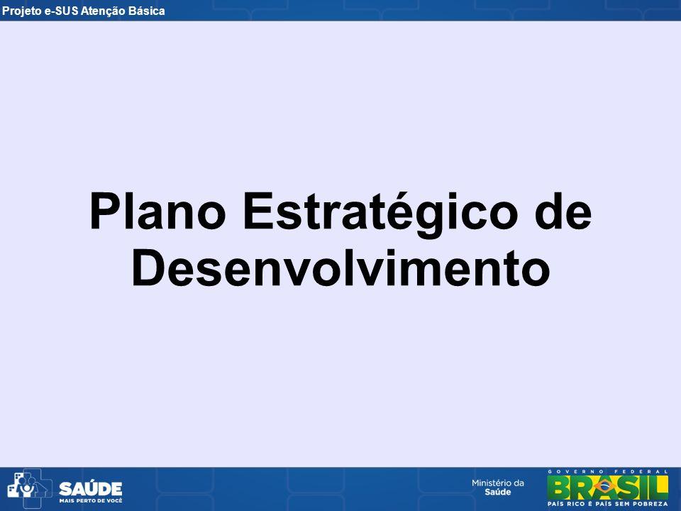 Plano Estratégico de Desenvolvimento