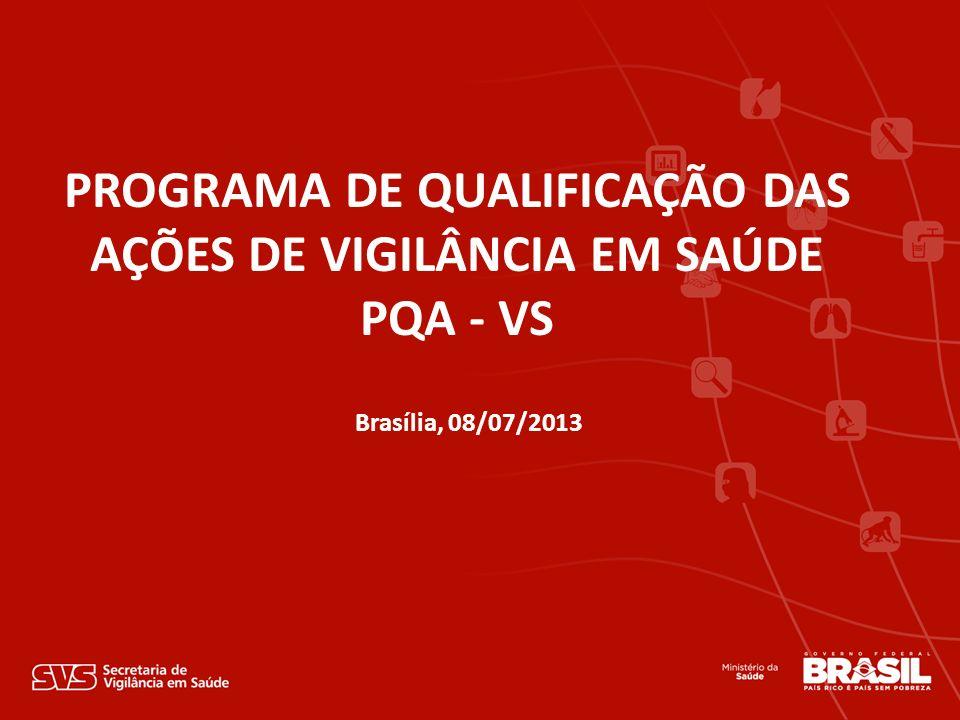 PROGRAMA DE QUALIFICAÇÃO DAS AÇÕES DE VIGILÂNCIA EM SAÚDE
