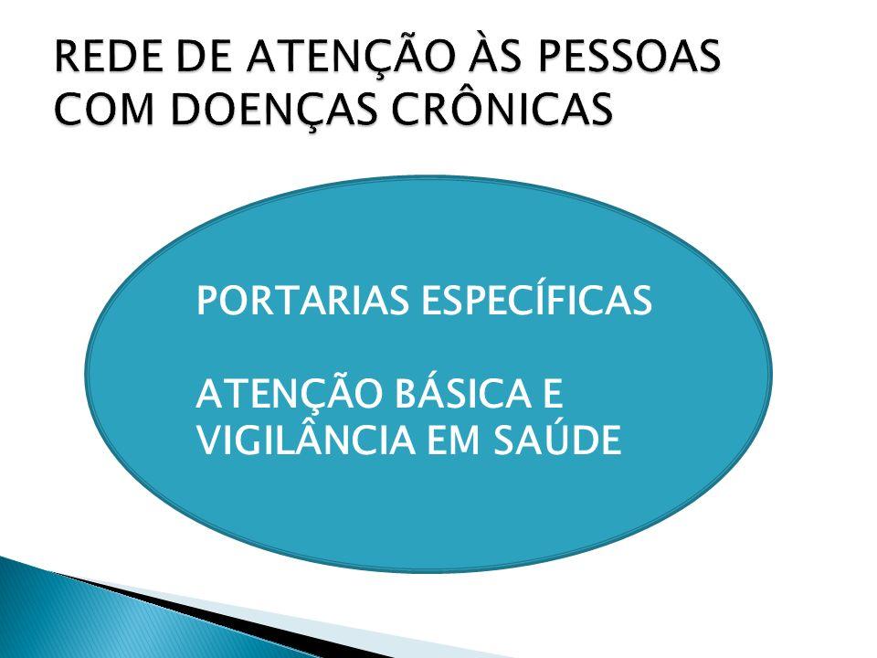 REDE DE ATENÇÃO ÀS PESSOAS COM DOENÇAS CRÔNICAS