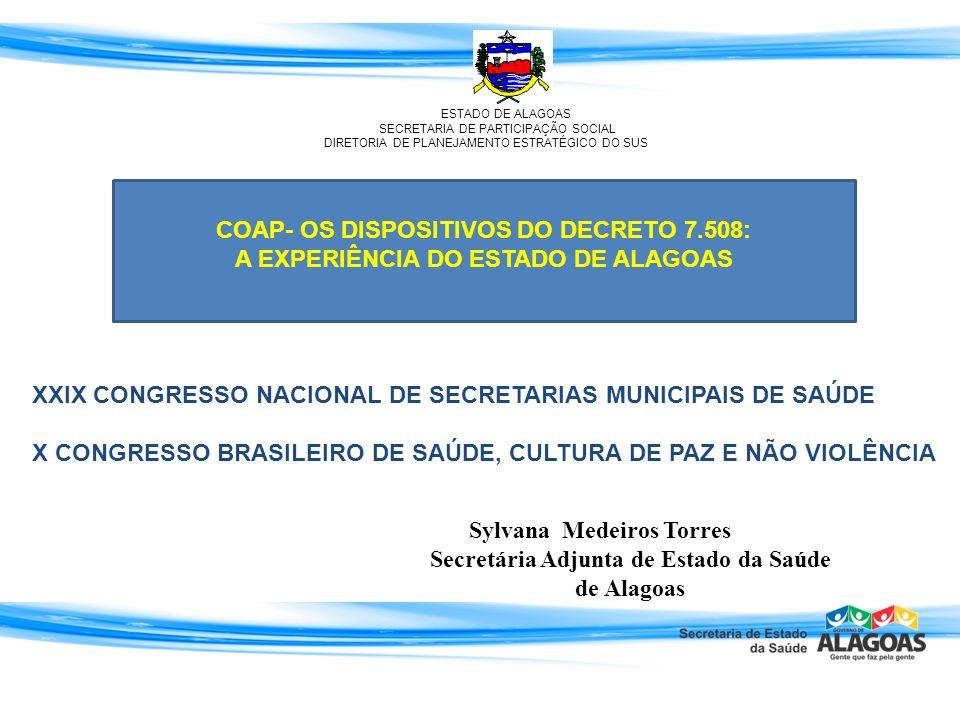 COAP- OS DISPOSITIVOS DO DECRETO 7.508: