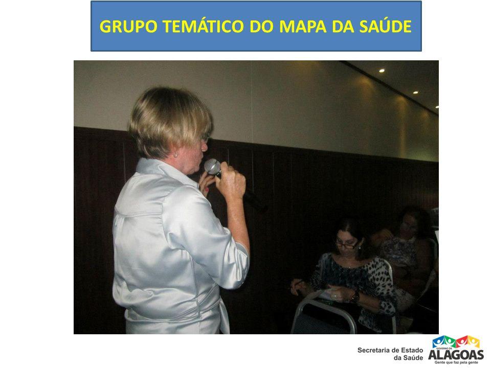 GRUPO TEMÁTICO DO MAPA DA SAÚDE