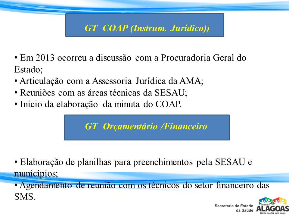 GT COAP (Instrum. Jurídico))