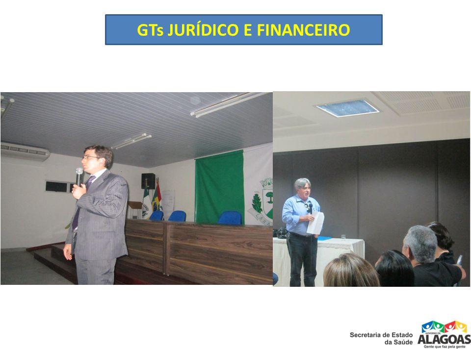 GTs JURÍDICO E FINANCEIRO