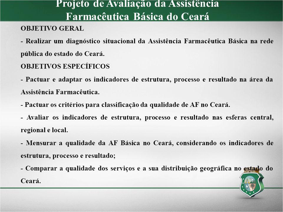 Projeto de Avaliação da Assistência Farmacêutica Básica do Ceará